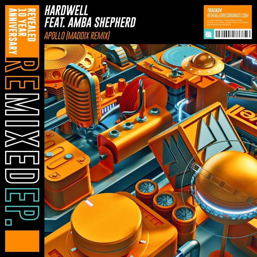 Hardwell ft. Amba Shepherd - Apollo (Maddix Remix) [Artwork Cover]
